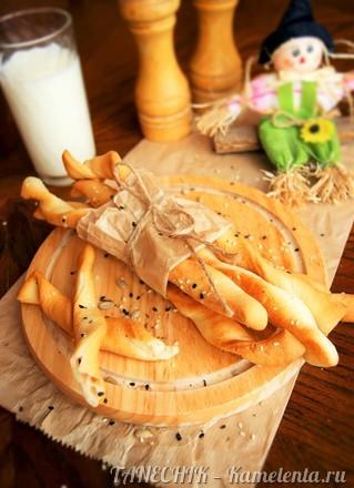 Приготовление рецепта Гриссини - хлебные палочки шаг 11
