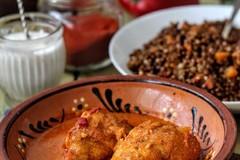 Куриный паприкаш (Paprikás csirke)