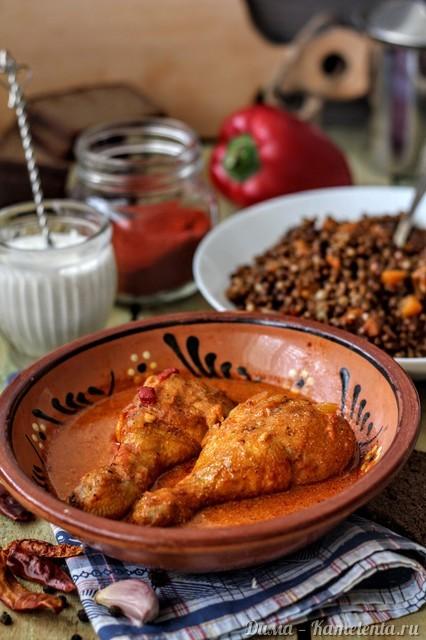 Рецепт куриного паприкаша