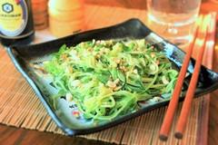 Салат из огурцов по-азиатски