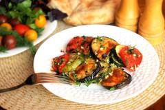 Запеченные овощи или экспресс