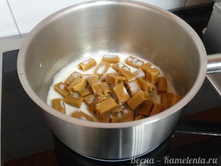 Приготовление рецепта Грушевый торт с пряной начинкой из грушевого джема и нежного суфле шаг 6