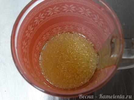 Приготовление рецепта Грушевый торт с пряной начинкой из грушевого джема и нежного суфле шаг 9
