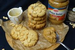 Арахисовое печенье из арахисовой пасты