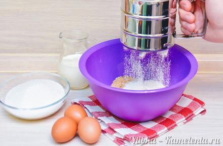 Приготовление рецепта Пирог с грушами и рикоттой шаг 4