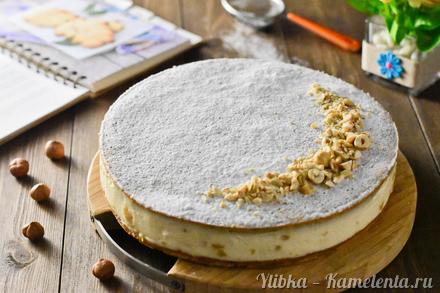 Приготовление рецепта Пирог с грушами и рикоттой шаг 15