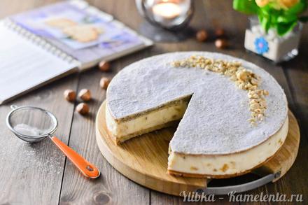 Приготовление рецепта Пирог с грушами и рикоттой шаг 16