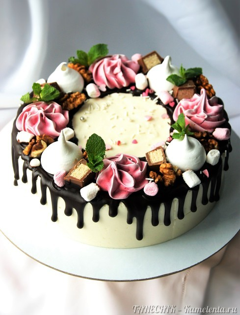 """Рецепт торта """"Птичье молоко"""" (на агар-агаре)"""