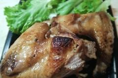 Крылья индейки в соевом соусе с медом и имбирём