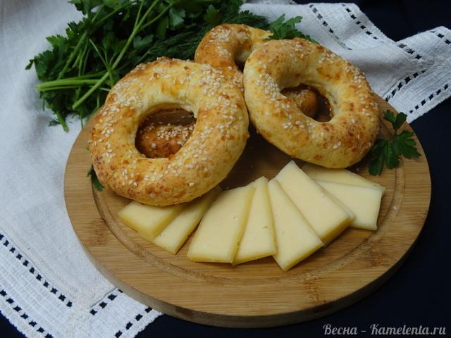 Рецепт творожно-сырных бубликов