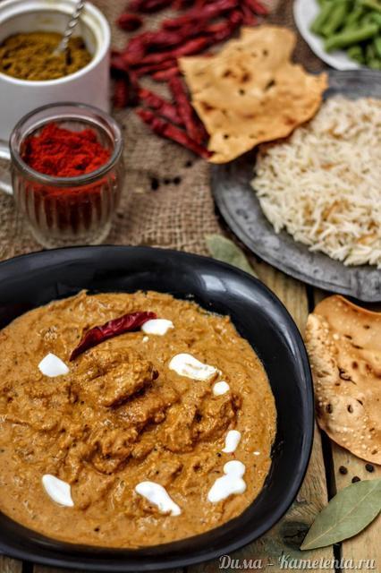 Рецепт butter chicken (Murgh makhani)