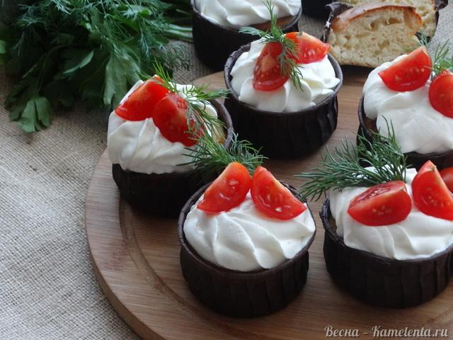 Рецепт закусочных сырных кексов