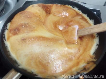 Приготовление рецепта Тесто на карамельный медовик шаг 4