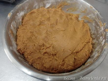 Приготовление рецепта Тесто на карамельный медовик шаг 12