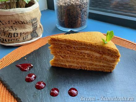 Приготовление рецепта Тесто на карамельный медовик шаг 18