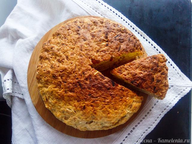 Рецепт яблочно-сырного скона