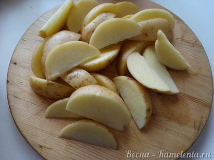 Приготовление рецепта Жаркое с курицей шаг 2