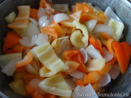 Приготовление рецепта Жаркое с курицей шаг 8