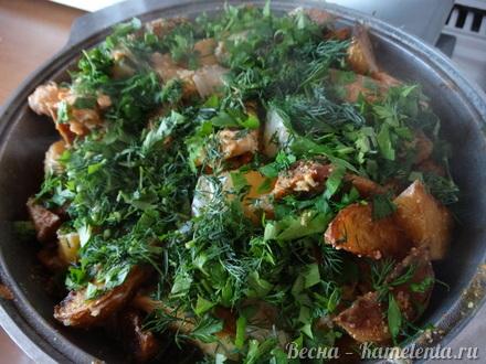 Приготовление рецепта Жаркое с курицей шаг 11