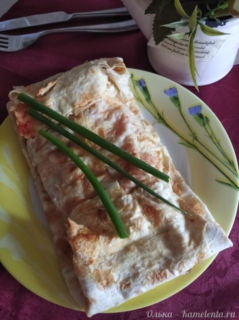 Рецепт филе рыбы запеченного в лаваше
