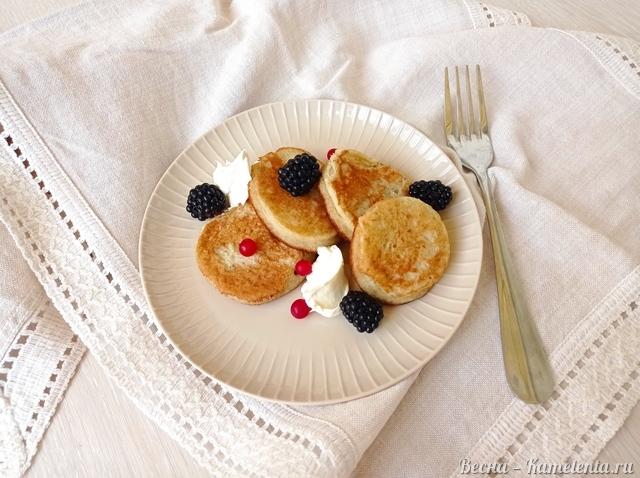 Рецепт панкейков из яблочного пюре