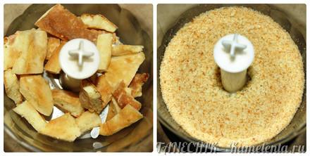 Приготовление рецепта Творожный торт с заварным кремом шаг 12