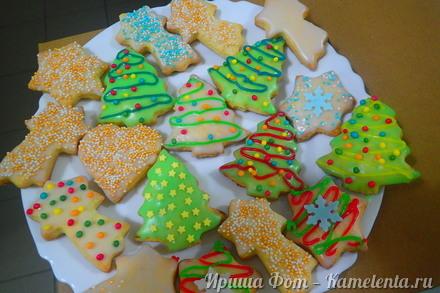 Приготовление рецепта Немецкое рождественское печенье Plätzchen шаг 9