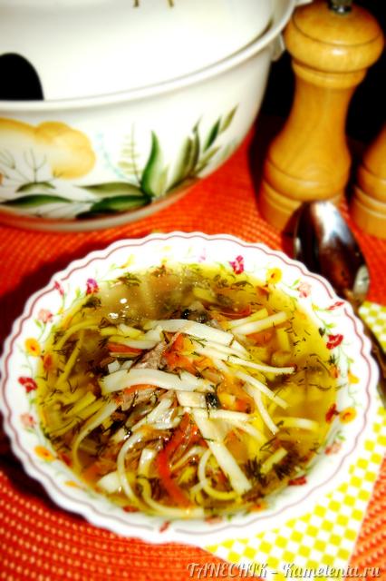 Рецепт домашней лапшы
