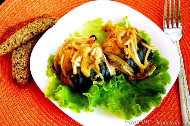 Рецепт скумбрии в горчичном соусе