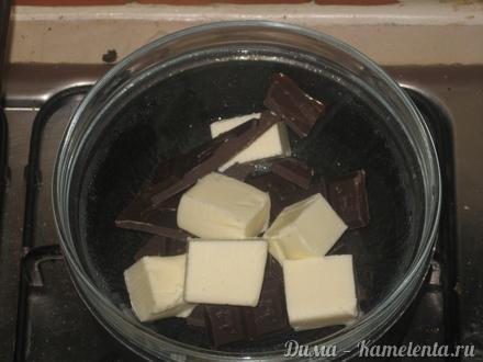 """Приготовление рецепта """"Crackled"""" chocolate cookies - (""""Треснутое"""" шоколадное печенье) шаг 2"""