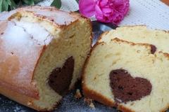 Кекс с шоколадным