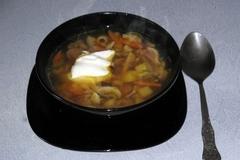Суп из вёшенок