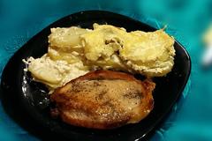Картофель, запеченный в сливках