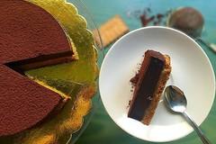 Английский шоколадный пай без выпечки