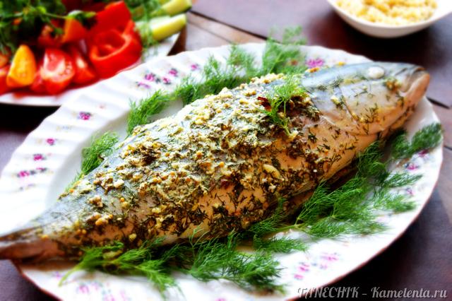 тунец запеченный в духовке фото рецепт