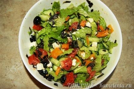 салат по гречески рецепт и фото