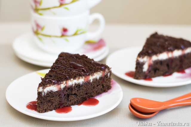 Рецепт шоколадно-кофейного пирога