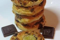 Шоколадно-банановые булочки