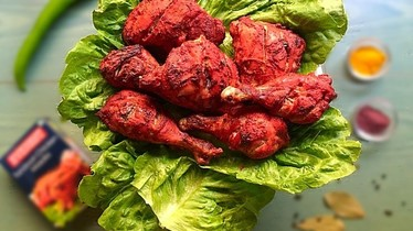 "Цыпленок ""Тандури"" (Tandoori chicken)"