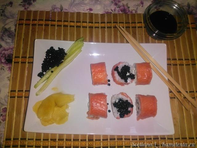 суши филадельфия пошаговый рецепт