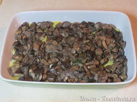 """Приготовление рецепта Картофельная """"лазанья"""" с грибами шаг 12"""