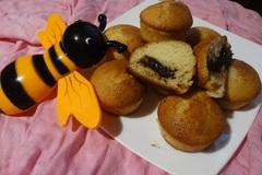 Медовые кексы с шоколадной начинкой