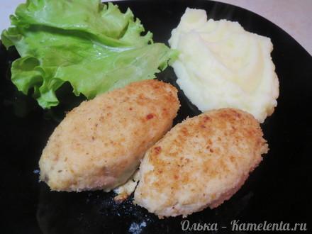 """Приготовление рецепта Куриные зразы с яйцом и луком и """"Шотландское яйцо"""" шаг 8"""