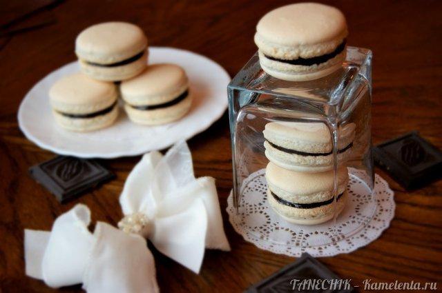 макарон печенье рецепт с фото пошагово