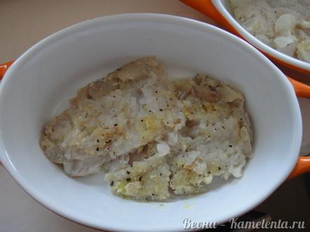 рецепт запеченной рыбы в сливках в духовке