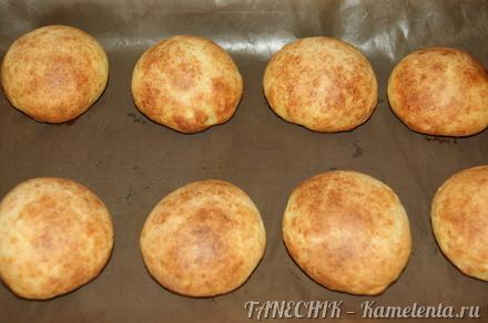 Приготовление рецепта Творожные булочки к завтраку (бездрожжевые) шаг 6