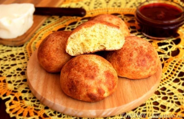 Рецепт творожных булочек к завтраку