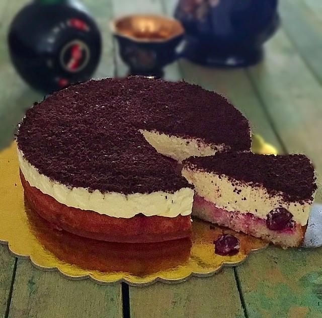 Вишневый пирог наслаждение рецепт пошагово в домашних условиях