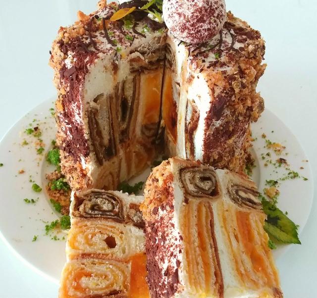 рецепт торта трухлявый пень пошаговый с фото