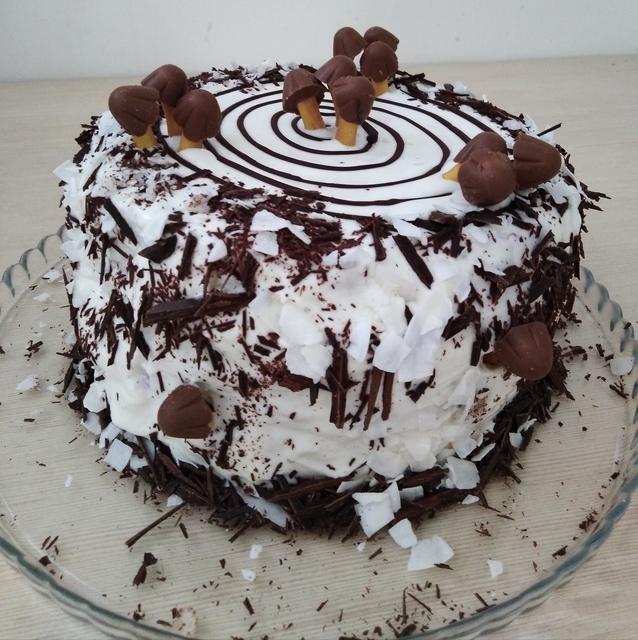 великолепные рецепт торта трухлявый пень пошаговый с фото доброго